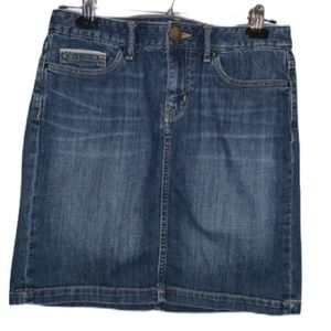EDDIE BAUER Denim Mini Skirt